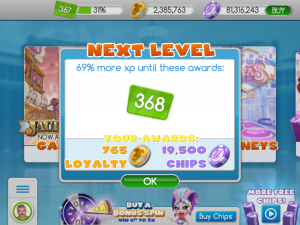 iPad Versions of MyVegas Games don't offer the same Loyalty Points - LetTheChipsFall.com