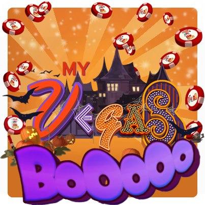 MyVegas has gone spooky for Halloween - MyVegas BOO !!!