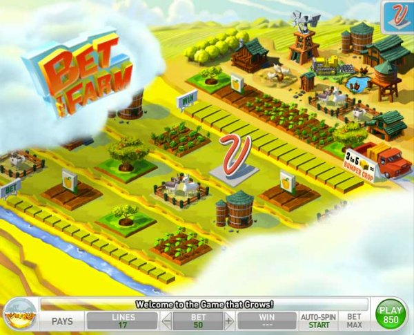 MyVegas Bet The Farm game - LetTheChipsFall.com
