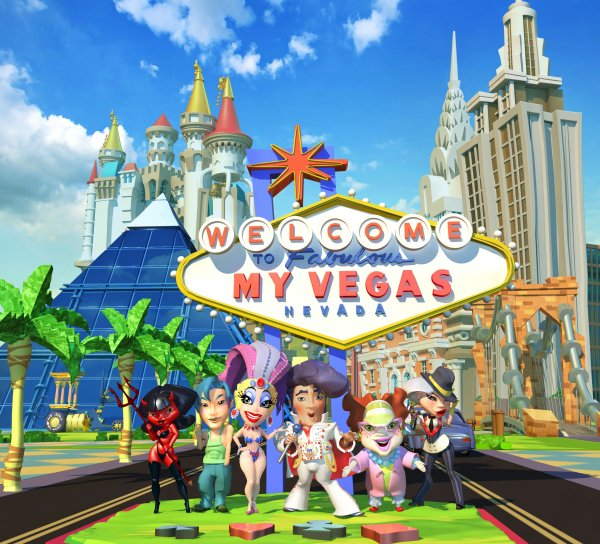 MyVegas, Playing MyVegas, Facebook Game MyVegas - LetTheChipsFall.com