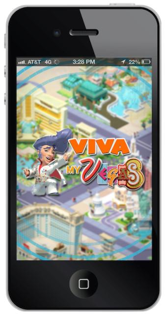Viva MyVegas iPhone app - LetTheChipsFall.com