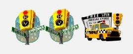 Taxi Icons - MyVegas - LetTheChipsFall.com