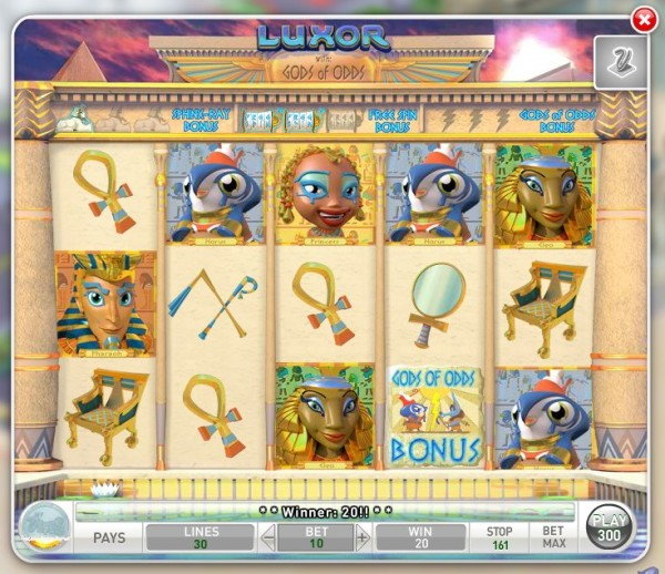 Luxor - The new MyVegas Game - Let The Chips Fall | LetTheChipsFall.com