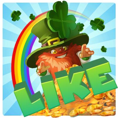St. Patrick's Day MyVegas Million Likes | LetTheChipsFall.com