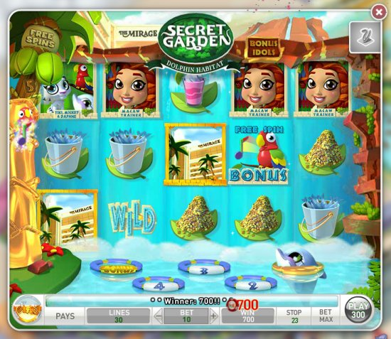 MyVegas Dolphin Jump Bonus Game | Let The Chips Fall | LetTheChipsFall.com
