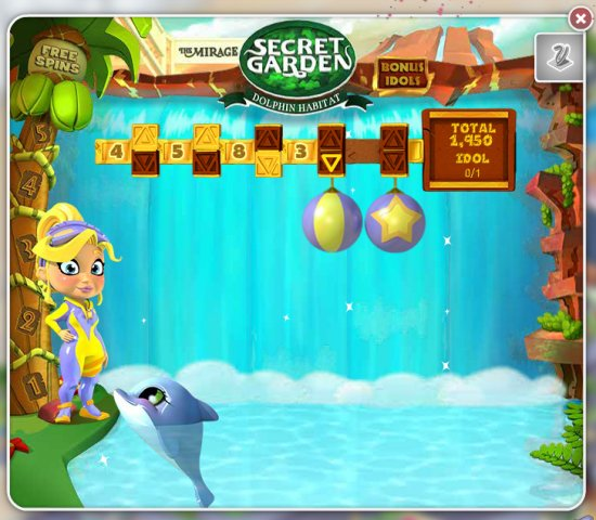 MyVegas Dolphin Jump Bonus Game | Let The Chips Fall | LetTheChipsFall.co