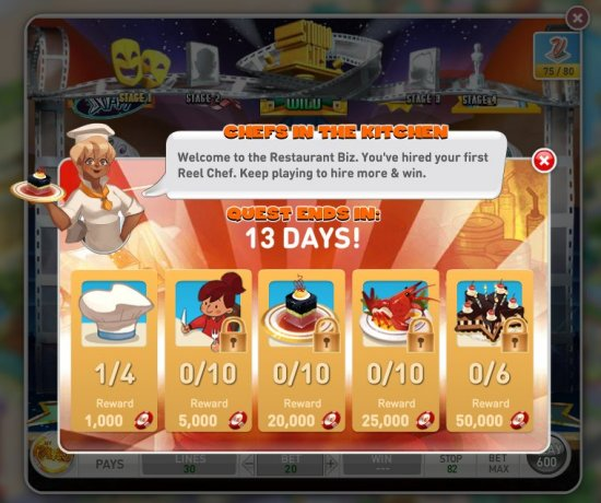 Reel Chef - MyVegas Bonus Game
