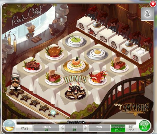 Reel Chef - MyVegas Slot Game - Let The Chips Fall | LetTheChipsFall.com