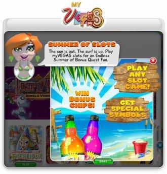 Summer Bonus Chip Game