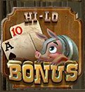 Hi-Lo Bonus - Frontier Fortune Slot Game in MyVegas | Let The Chips Fall | LetTheChipsFall.com