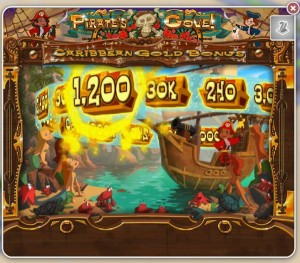 Caribbean Gold Bonus Game - MyVegas