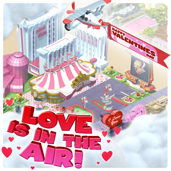 Love is in the air - MyVegas Valentine's Day Bonus | Let The Chips Fall | LetTheChipsFall.com