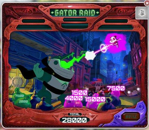 Gator Raid Bonus Game - Pandarama | MyVegas | LetTheChipsFall.com