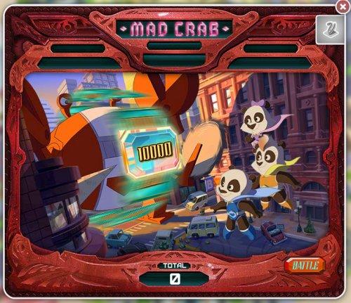 Mad Crab Bonus Game - Pandarama | MyVegas | LetTheChipsFall.com