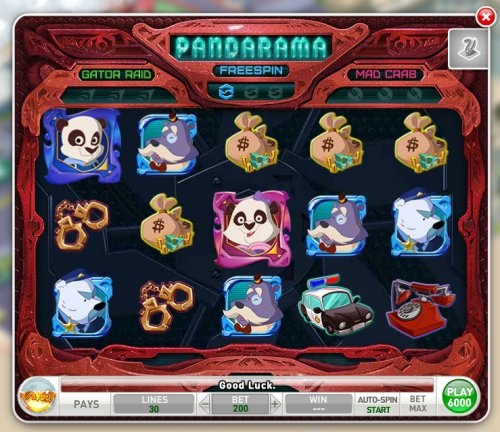 Pandarama - MyVegas game on Facebook | Let The Chips Fall | LetTheChipsFall.com