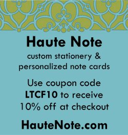 Haute Note - custom stationery & personalized notes -HauteNote.com